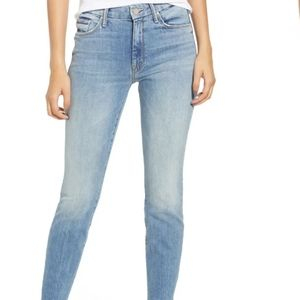 Mother the looker ankle jeans